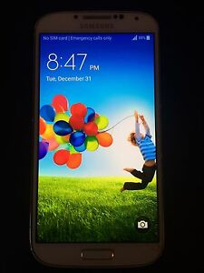 Samsung Galaxy S4 - Bell - Cracked Screen