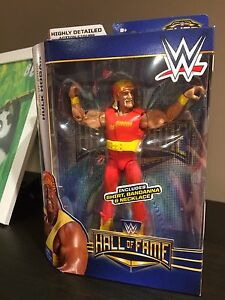 WWE ELITE HULK HOGAN HALL OF FAME ACTION FIGURE BY MATTEL