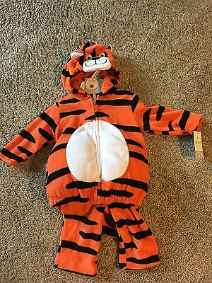 Carters Tiger Costume Size 3-6 Months NWTS $38 CUTE AND WARM AND SOFT - Cute Tiger Kostüm