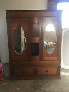 Antique cupboard from 1886 make an offer! Montmorency Banyule Area Preview