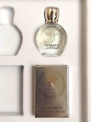 Versace Eros Pour Femme Eau De Toilette 5ml Boxed