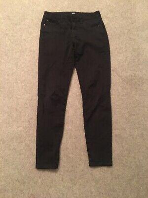 Kensie Ladies Black Jeans Skinny 27inch Waist, Regular Length.