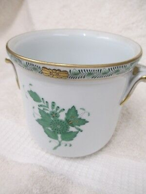 "Herend Cachepot (planter) ""Chinese Bouquet"" Medium Footed w/ Handles"