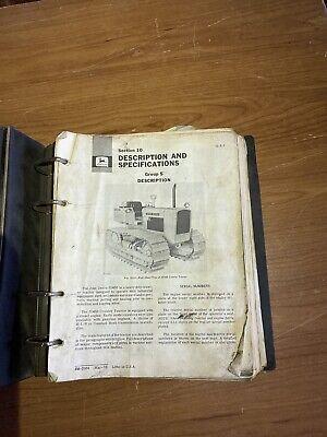 John Deere 450 Crawler Tractor Dozer Manual Shop Book