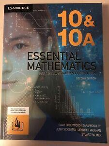 Cambridge AC Essential Maths 10/10A - 2nd edition