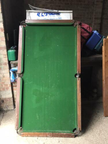 pool table 6ft slate