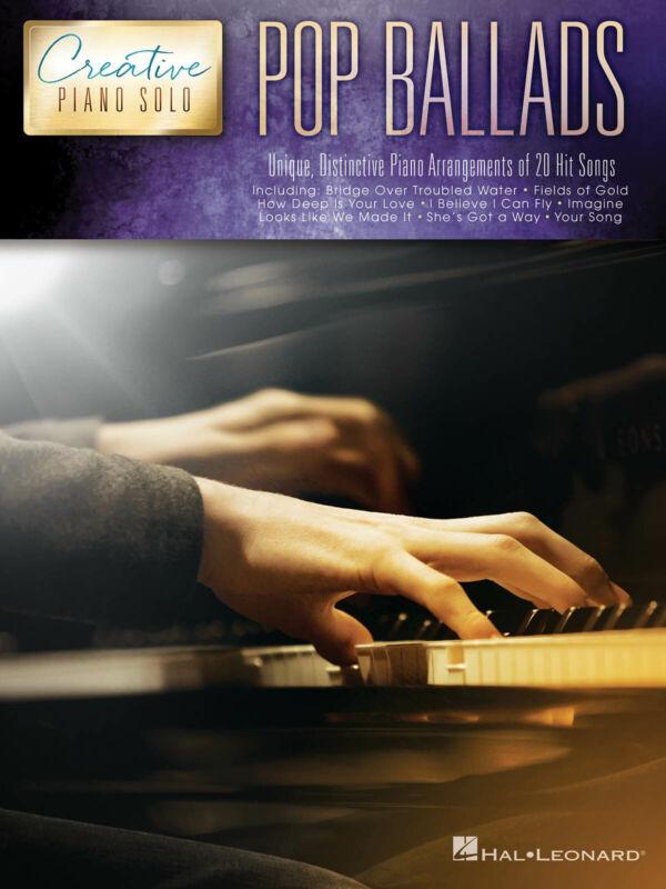 Pop Ballads Creative Piano Solo Intermediate to Advanced Sheet Music Song Book
