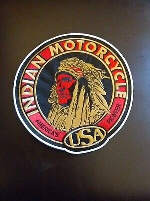 vintage collectable INDIAN MOTORCYCLE patchs xxl⁰