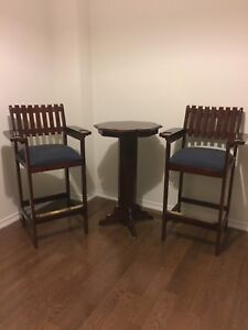 Pub Table and Bar Chairs