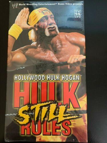 ORIGINAL VINTAGE WWF WWE HULK STILL RULES BRAND NEW SEALED VHS WRESTLING TAPE