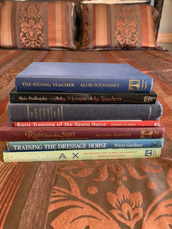 Horse Dressage / Training Book Lot