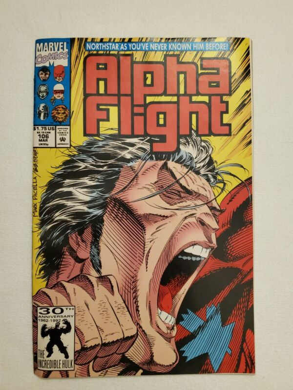 ALPHA FLIGHT #106 MAR 92