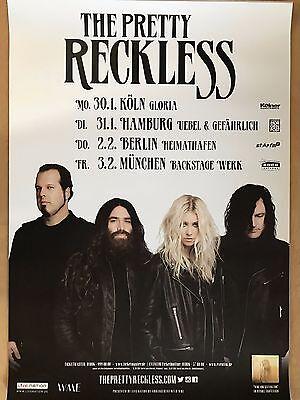 THE PRETTY RECKLESS  2017  TOUR  + orig.Concert Poster -- Konzert Plakat  A1 NEU