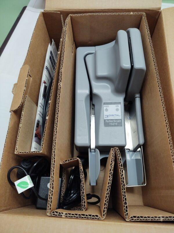 Digital Check TellerScan TS215 Check Reader Scanner Teller Scan Check Scanner