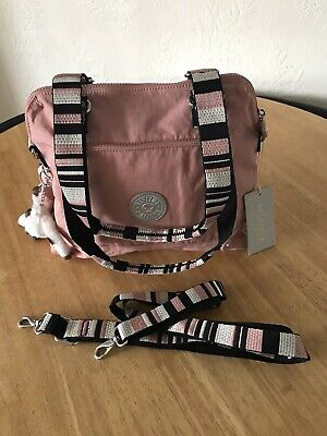 KIPLING SHABINA CROSS BODY/SHOULDER BAG - PINK LIGHT *BNWT*