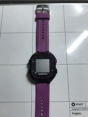 Garmin Forerunner 25 GPS Running Watch 010-01353-20, Small, Black/Purple