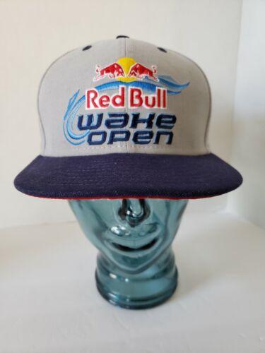 Red Bull Rare Snapback Back 2013 Wake Open Hat
