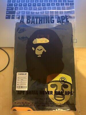 A BATHING APE MEN'S PUSHA-T BAPE BABY MILO TEE Black Size 2XL 100% Authentic