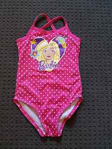 GIRL'S BARBIE BATHERS - SIZE 4/5 - WORN ONCE AS NEW Windsor Gardens Port Adelaide Area Preview