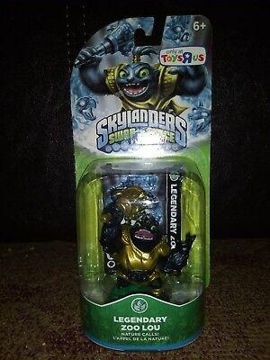 Skylanders Swap Force - LEGENDARY Zoo Lou -Toys R Us Exclusive - BRAND (Skylander Swap Force Toys R Us Exclusive)