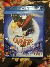 Disney's A Christmas Carol Blu-ray Jim Carrey, | eBay