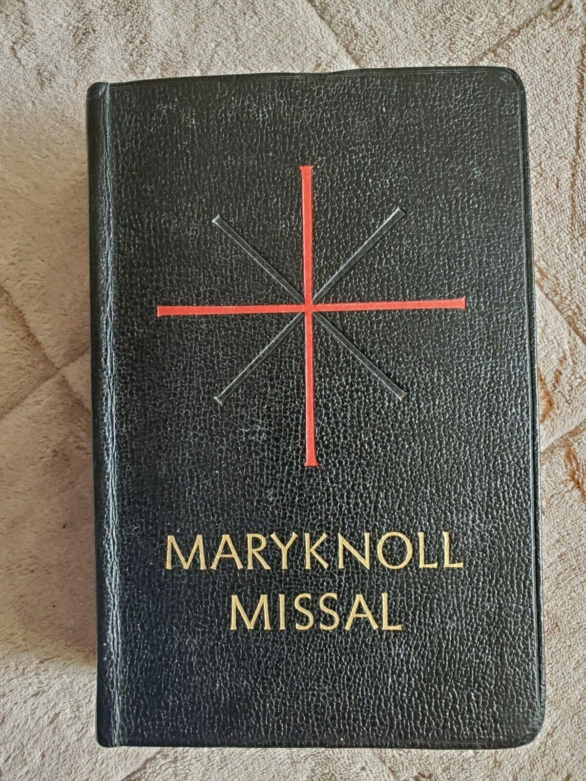 MaryKnoll Daily Missal Of The Mystical Body1961 Latin Mass Pre Vatican II  - $40.00