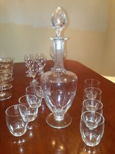 Baccarat Crystal stemware champagne