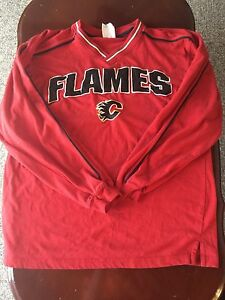 Calgary flames long sleeve shirt