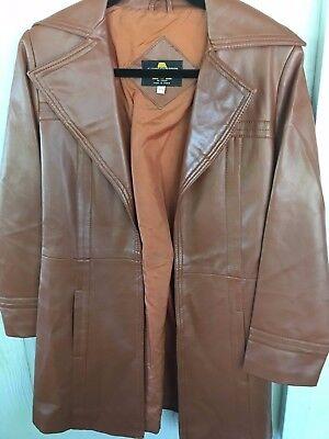 Vintage Ankar Fashions Women's Poly Vinyl Jacket Coat - Era 1960's - Size 9/10