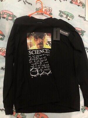 Neighborhood X Breaking Bad Science Long Sleeve T Shirt Size Large Black Rare