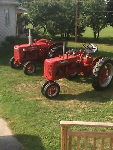 Looking to store 2 antique tractors for winter