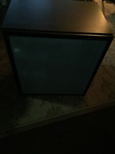 IKEA entertainment cabinet frosted glass front