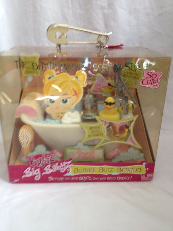 Bratz bubble blitz bath tub NIB3505130499