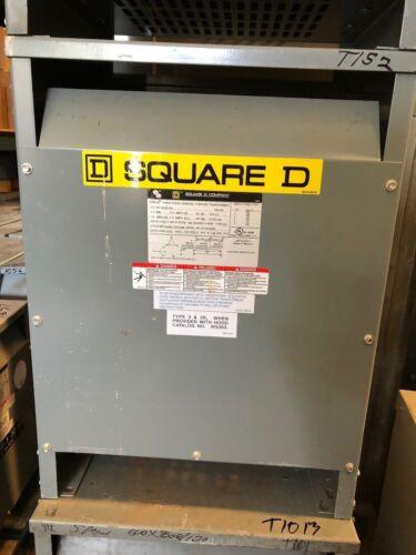 Square D EE30T3H, 30 KVA, 480 X 120/208 Volt, Dry Type Transformer (NS) - T152