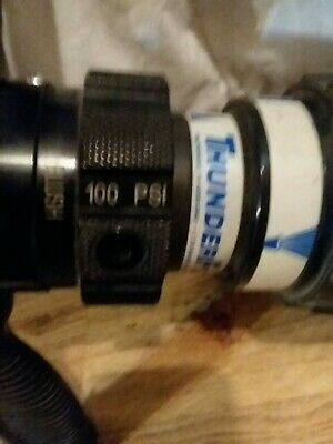 Used Fire Hose Nozzle