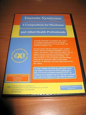 Tourette Syndrome Compendium For Physicians Allied Health Professionals Cd Dvd