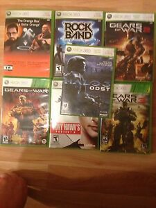 Xbox 360 lot of 7 games