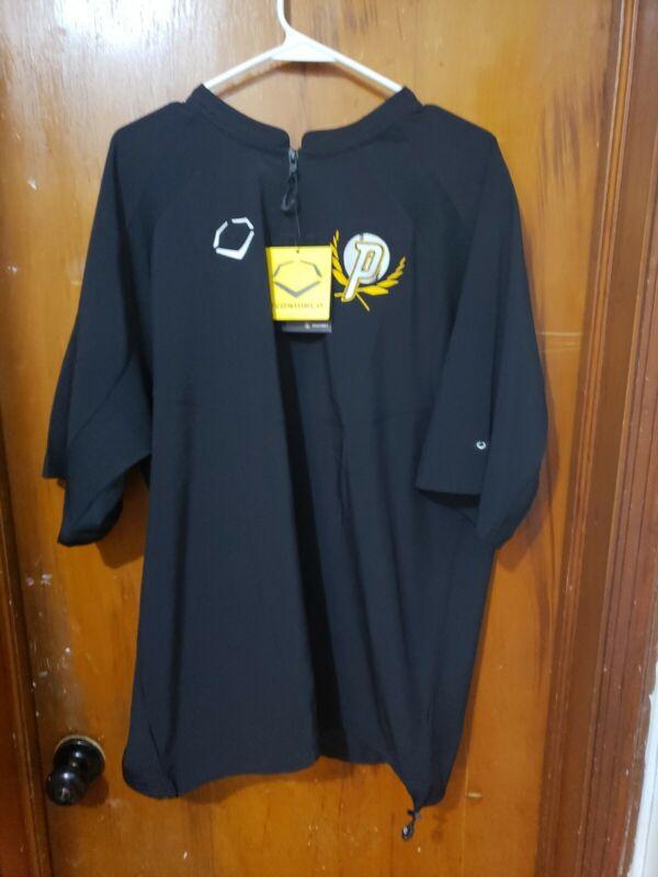 EvoShield Adult Pro Team BP Jacket. Black. Size XL. NWT !!!