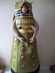 CHILDS Doctor Who  Fancy Dress  Dalek  Childrens Costume   7/8 YRS