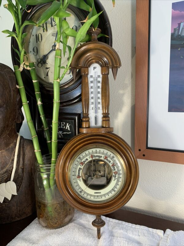 Vintage ORBROS Made In GERMANY Barometer Rare Gorgeous