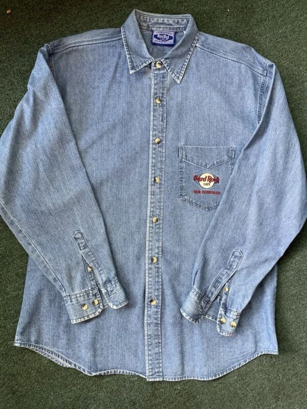 Hard Rock Denim Shirt San Francisco
