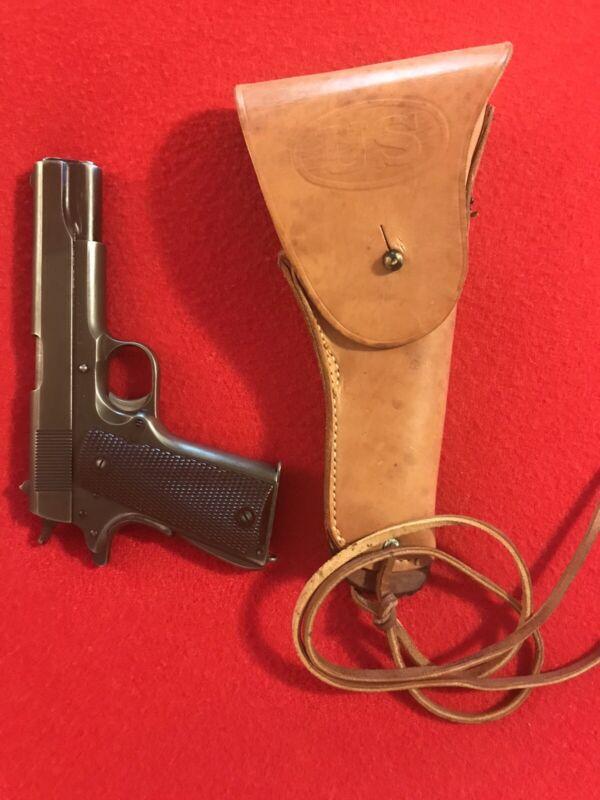 "WW2 USMC Holster M1916 & Lace (""ENGER-KRESS"") M1911 .45 ACP Mint NOS Unissued!"