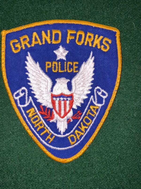 Grand Forks North Dakota Police Patch