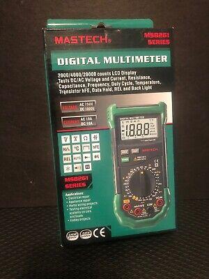 Mastech Ms8261 Digital Dmm Multimeter W Acdc Voltage
