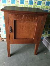 Silky oak side table/bedside table Holland Park West Brisbane South West Preview