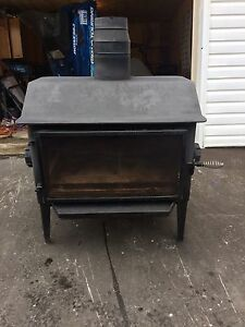 Arcson glass wood stove