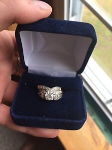 Engagement ring Wedding band set $6,000