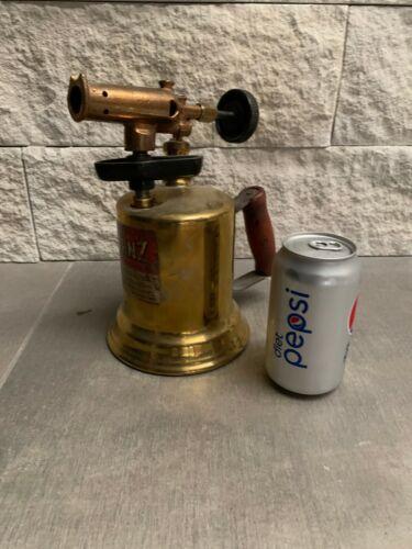 Oddities Antique Tool Blow Torch Steampunk Brass