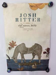 JOSH RITTER (On Tour) THE ANIMAL YEARS -Two Sided POSTER
