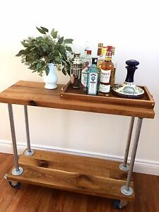 Bar Cart, hall table, shelf